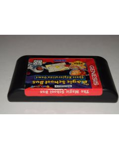 Magic School Bus Space Exploration Game Sega Genesis Video Game Cart