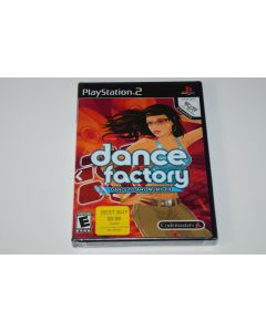 Dance Factory Playstation 2 PS2 Video Game New Sealed