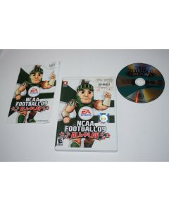 NCAA Football 09 All-Play Nintendo Wii Video Game Complete