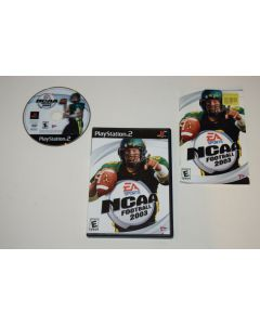 NCAA Football 2003 Playstation 2 PS2 Video Game Complete