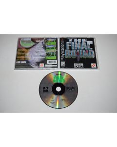 Final Round Playstation PS1 Video Game Complete