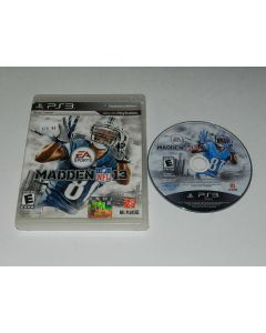 Madden NFL 13 Playstation 3 PS3 Game Disc w/ Case