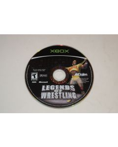 Legends of Wrestling Microsoft Xbox Video Game Disc Only