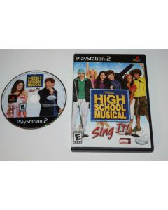 High School Musical Sing ItPlaystation 2 PS2 Game Disc w/ Case