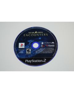 Star Trek Encounters Playstation 2 PS2 Video Game Disc Only