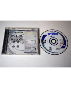 Supercross Playstation PS1 Game Disc w/ Case