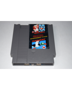 Super Mario Bros Duck Hunt Nintendo NES Game Cart Dual USB 2.0 Phone Charger