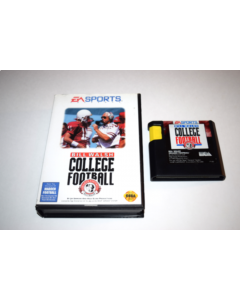 Bill Walsh College Football Sega Genesis Video Game Cart w/ Box Only