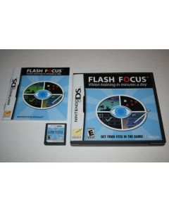 Flash Focus Vision Training Nintendo DS Video Game Complete