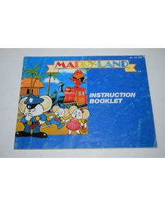 Mappy-Land Nintendo NES Video Game Manual Only