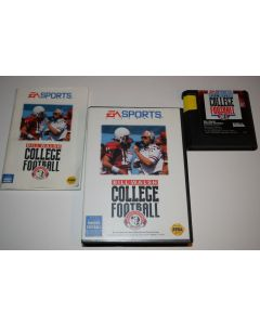Bill Walsh College Football Sega Genesis Video Game Complete in Box