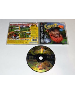 CyberTiger Playstation PS1 Video Game Complete