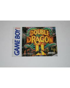 Double Dragon II The Revenge Nintendo Game Boy Video Game Manual Only