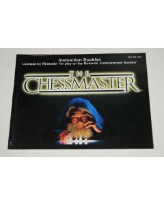 Chessmaster Nintendo NES Video Game Manual Only