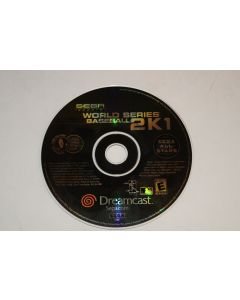 World Series Baseball 2K1 Sega Dreamcast Video Game Disc Only