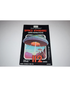 Space Invaders Sears Atari 2600 Video Game Manual Only