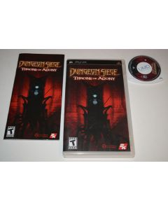 Dungeon Siege Throne of Agony Sony Playstation PSP Video Game Complete
