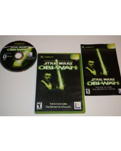 Star Wars Obi-Wan Microsoft Xbox Video Game Complete
