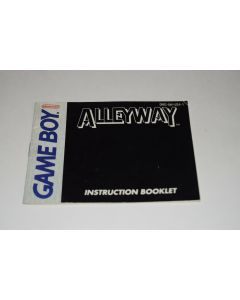 Alleyway Nintendo Game Boy Video Game Manual Only