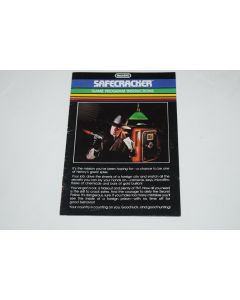 Safecracker Intellivision Video Game Manual Only