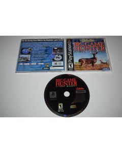 Big Game Hunter Playstation PS1 Video Game Complete