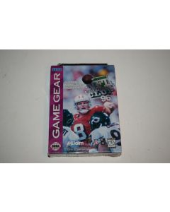 NFL Quarterback Club '96 Sega Game Gear Video Game New Sealed