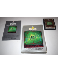 Bugs Atari 2600 Video Game Complete in Box