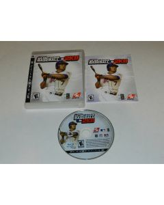 Major League Baseball 2K8 Playstation 3 PS3 Video Game Complete