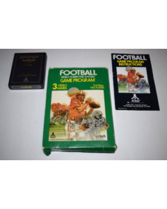 Football Atari 2600 Video Game Complete in Box