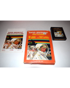 Super Breakout Atari 2600 Video Game Complete in Box