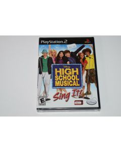 High School Musical Sing It Playstation 2 PS2 Video Game New Sealed