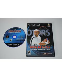Agassi Tennis Generation Playstation 2 PS2 Game Disc w/ Case