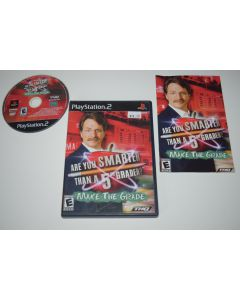 Are You Smarter 5th Grader Make Grade Playstation 2 PS2 Video Game Complete