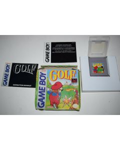 Golf Nintendo Game Boy Video Game Complete in Box