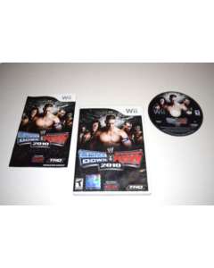 WWE SmackDown vs. Raw 2010 Nintendo Wii Video Game Complete