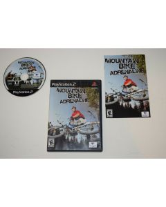 Mountain Bike Adrenaline Playstation 2 PS2 Video Game Complete