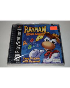 Rayman Brain Games Playstation PS1 Video Game New Sealed