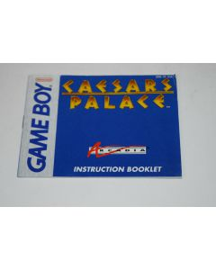 Caesar's Palace Advance Nintendo Game Boy Advance Video Game Manual Only