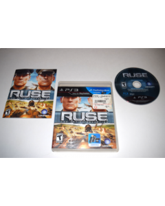 R.U.S.E. Playstation 3 PS3 Video Game Complete