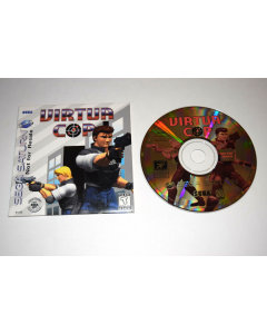 Virtua Cop NOT FOR RESALE Version with Sleeve Sega Saturn Game Disc w/ Sleeve