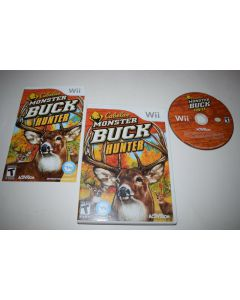 Cabela's Monster Buck Hunter Nintendo Wii Video Game Complete