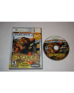 Cabela's Dangerous Hunts Platinum Hits Microsoft Xbox Game Disc w/ Case