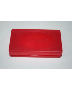 Game Cart Storage Case Red for Nintendo DS Handheld Video Game System