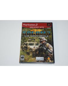 SOCOM III US Navy Seals Greatest Hits Playstation 2 PS2 Video Game New Sealed