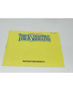 Barker Bill's Trick Shooting Nintendo NES Video Game Manual Only