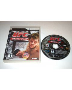 UFC 2009 Undisputed Playstation 3 PS3 Game Disc w/ Case