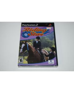 Riding Star Playstation 2 PS2 Video Game New Sealed