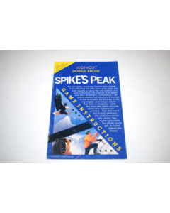 Spikes Peak Atari 2600 Video Game Manual Only