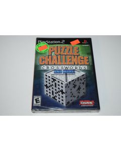 Puzzle Challenge Crosswords and More Playstation 2 PS2 Video Game New Sealed