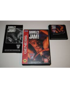 Barkley Shut Up and Jam! Sega Genesis Video Game Complete in Box